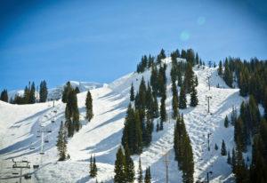 Alta Ski Resort on a Sunny Day